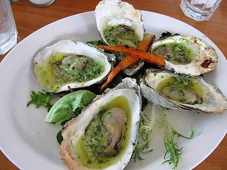 Anne Babineau - Matunuck oysters