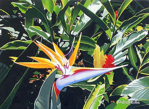 Maui Garden by Joe Roselle