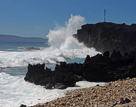 Maui Lava Wave by Dave Saltonstall