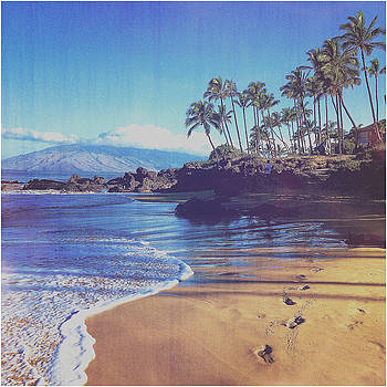 Maui Morning Walk by Eric Bjerke Sr