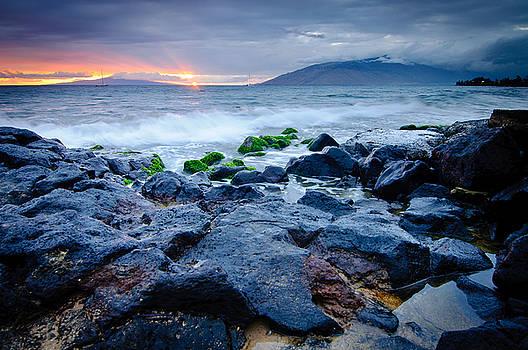 Maui Sunset, Hawaii by Preston Broadfoot