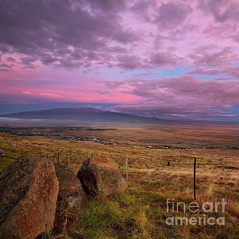 Charmian Vistaunet - Mauna Kea and Hualalai Sunset