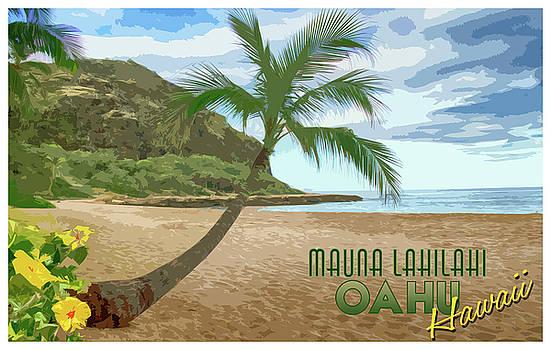 Mauna Lahilahi Poster by Debby Richards