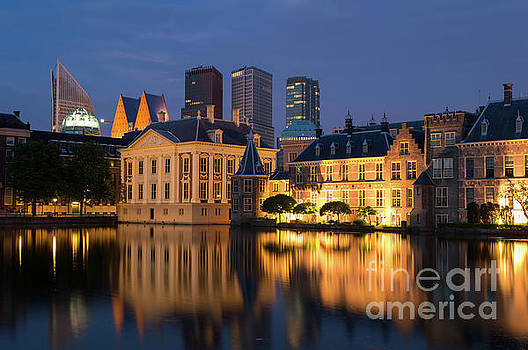 Mauritshuis by Night, The Hague, Netherlands by Sinisa CIGLENECKI