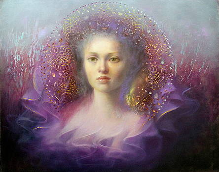 Mauve Dream by Loretta Fasan