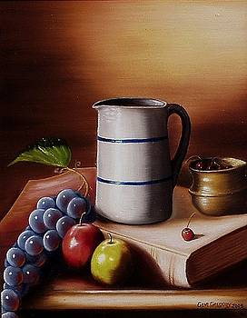 Maws pitcher by Gene Gregory