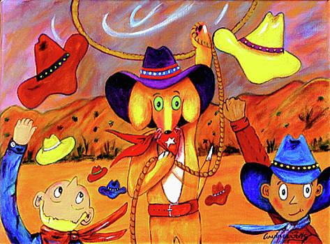 Max Book- Cheering Cowboys by Andrea Folts