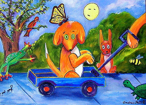Max Book P Max JR takes a ride by Andrea Folts