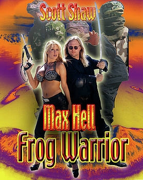Max Hell Frog Warrior by The Scott Shaw Poster Gallery