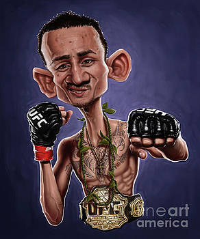 Max Holloway by Andre Koekemoer