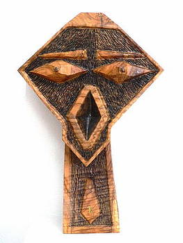 Max Olive Wood sculpture by Eric Kempson