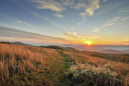 Max Patch Sunrise by Doug Ash