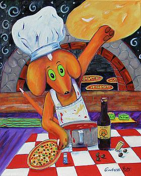 Max - Pizza Max by Andrea Folts