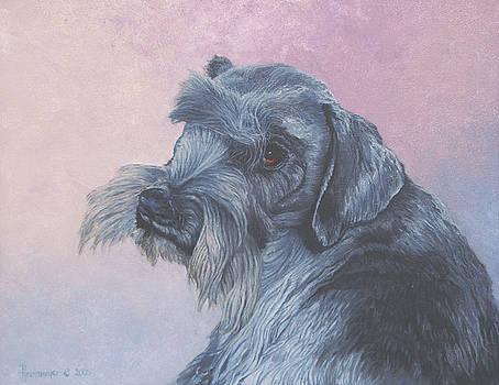 Max the Schnauzer by Ann Arensmeyer