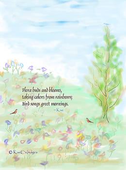 Kae Cheatham - May Haiku with Drawing