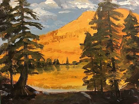 May Lake by Susan E Jones