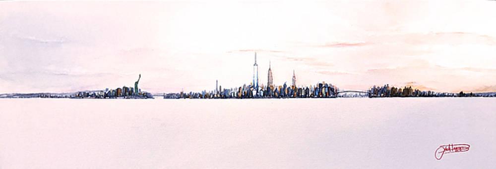 May Sky In Manhattan by Jack Diamond