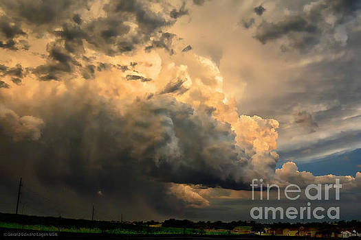 May Thunderstorm at Dusk by Gerald MacLennon