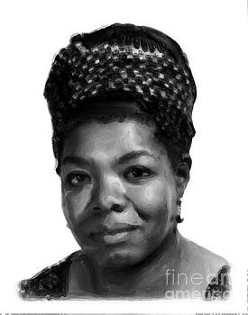 Maya Angelou by Margie Middleton