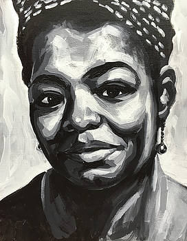 Maya Angelou by Seamas Culligan