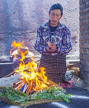 Mayan Ceremony by Kobby Dagan