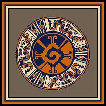 Mayan Hunab Ku Serpent by Vagabond Folk Art - Virginia Vivier