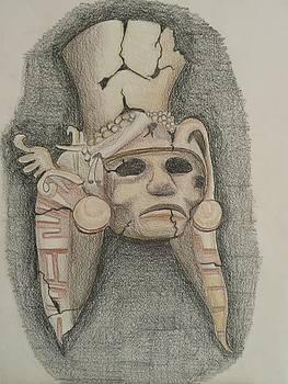Mayan Mask by Clint Howard
