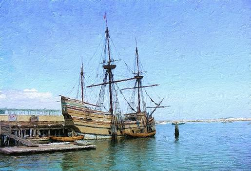 Mayflower II by Diane Lindon Coy