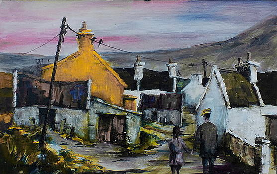 Val Byrne - Mayo.. Achill.. Evening Stroll in Dugort
