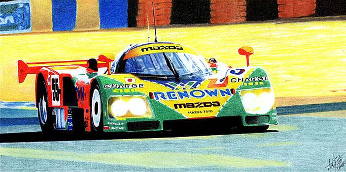 Mazda 787B by Lyle Brown
