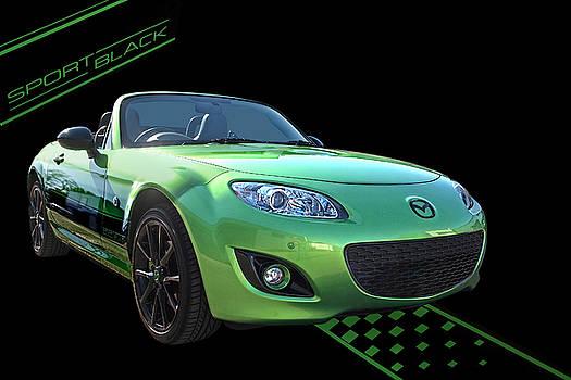 Gill Billington   Mazda MX 5 Sport Black