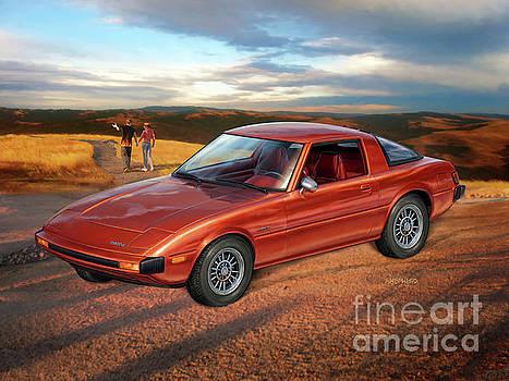 Mazda RX-7 by Stu Shepherd