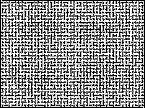 Maze by Thomas Campbell