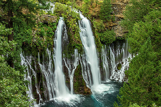 McArthur-Burney Falls by Bill Gallagher