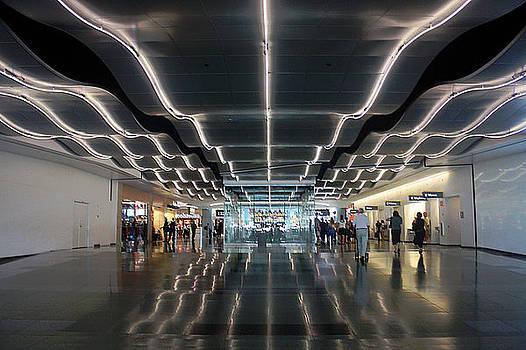 McCarren Airport Las Vegas by Bill Buth