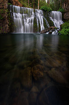 McCloud Falls by Dustin LeFevre
