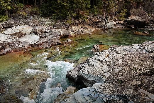 McDonald Creek 7 by Marty Koch