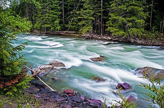 McDonald Creek by Gary Lengyel