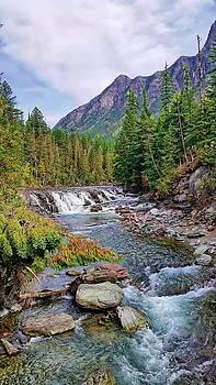 Joe Duket - McDonald Creek Waterfall