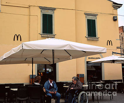 McDonald's in Pisa, Italy by Tanya Searcy