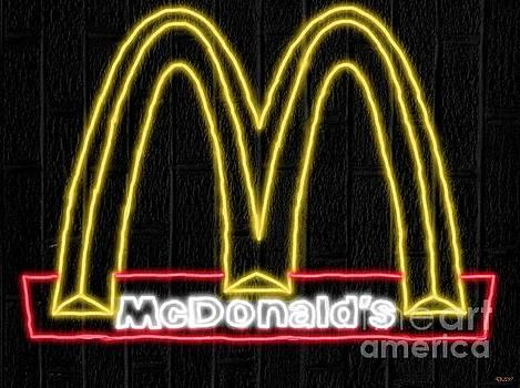 McDonald's Neon by Daniel Janda