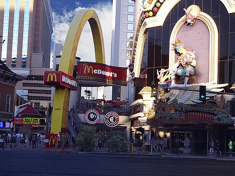McD's on the Strip by Bruce Iorio