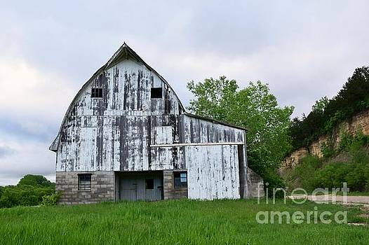 McGregor Iowa Barn by Kathy M Krause