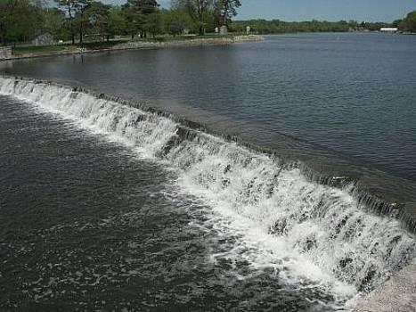 Mchenry Dam by Deborah Finley
