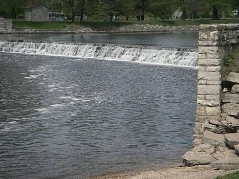 Mchenry Dam side by Deborah Finley