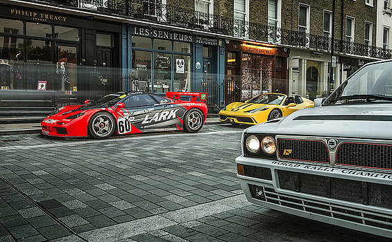 McLaren F1 GTR with Speciale and Integrale  by George Williams