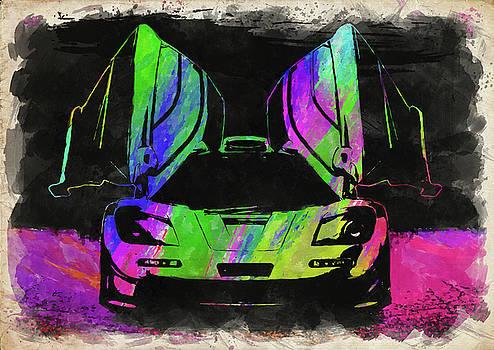 Ricky Barnard - McLaren F1 Watercolor