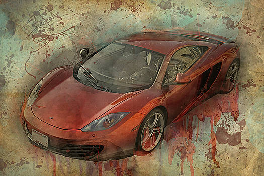 McLaren Graffiti by Joel Witmeyer