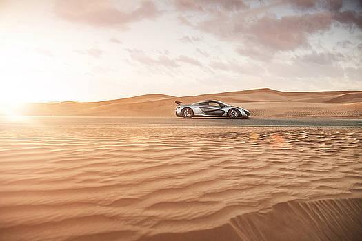 McLaren P1 in Dubai Desert by George Williams