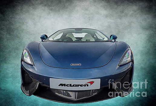 Adrian Evans - McLaren Sports Car